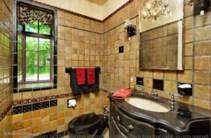 Antique tile bath